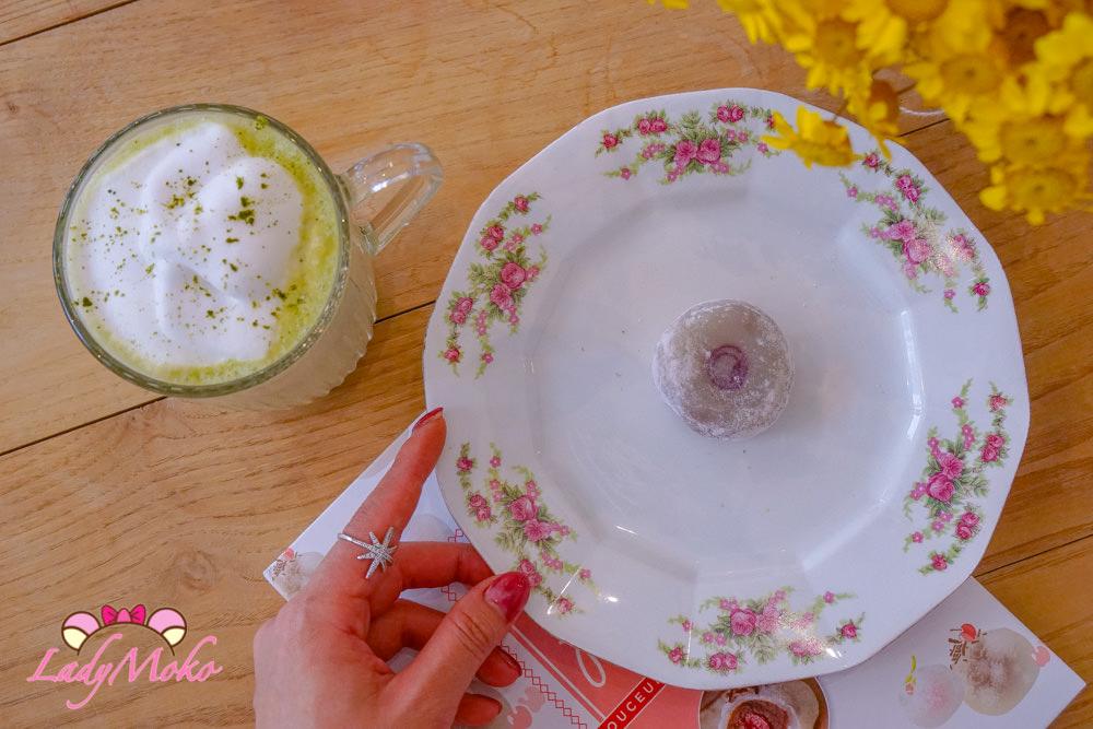 巴黎甜點茶葉專賣|Collection T. ,抹茶控推薦抹茶牛奶&榛果麻糬大福 Matcha Latte & La Maison du Mochi