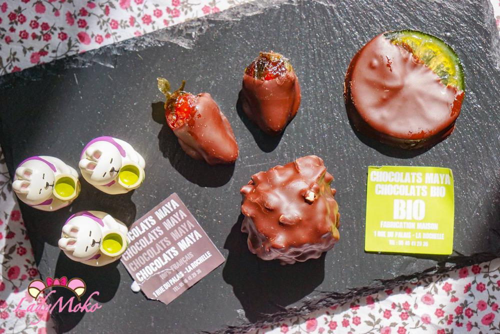La Rochelle美食|Chocolats MAYA巧克力專賣,獨特水果乾巧克力推薦