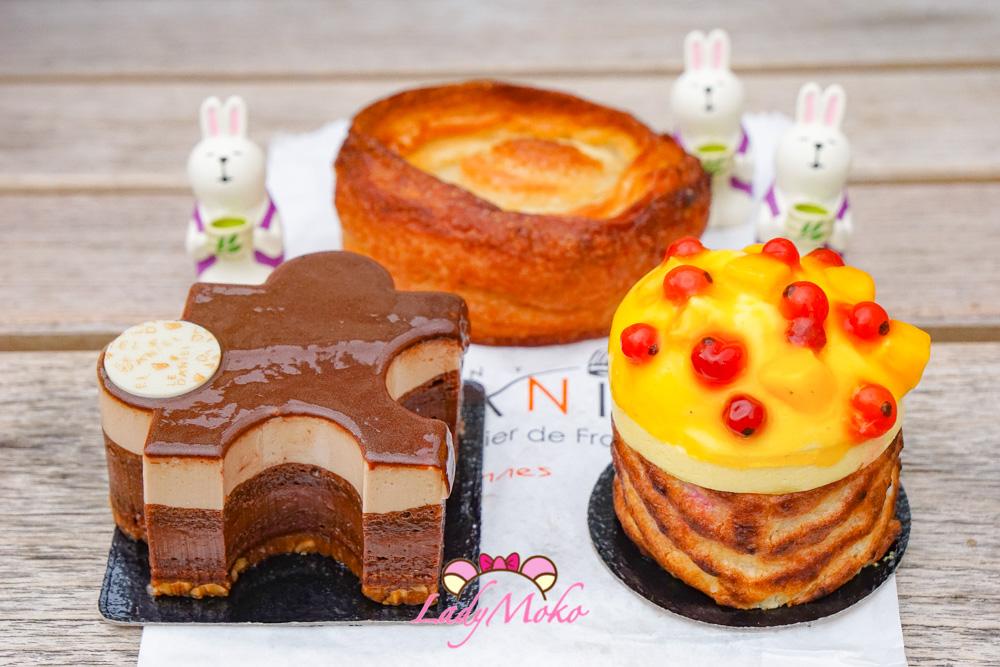法國Rennes雷恩必吃MOF甜點|Pâtisserie Le Daniel,名不虛傳高度推薦!招牌甜點&KOUIGN AMANN好吃的要命啊