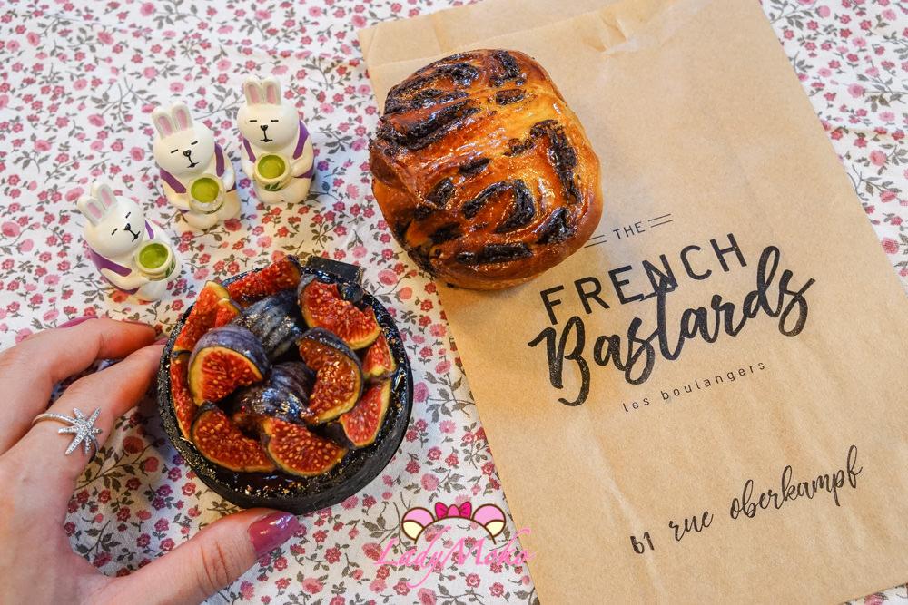 巴黎甜點|The French Bastards, 三位年輕麵包師開業的有機酵母麵包甜點專賣店,無花果塔相當出色