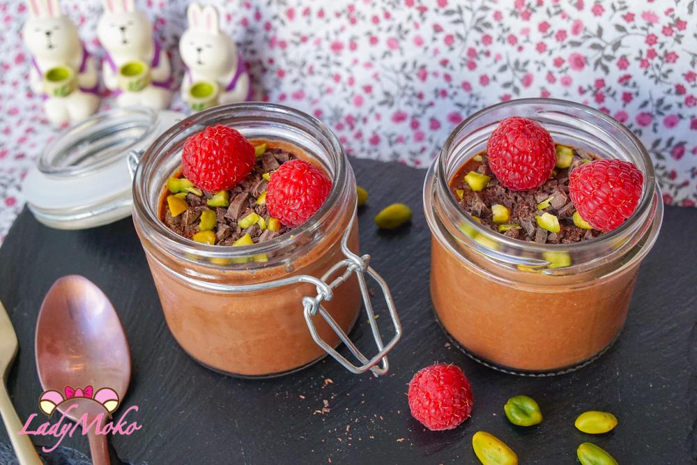 全素巧克力慕斯食譜|顛覆你對素食甜點的想像,極濃郁,無蛋無吉利丁無麩質