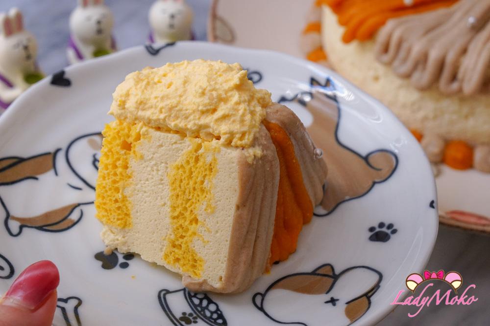 南瓜戚風 乳酪慕斯 雙色栗子蒙布朗 蛋糕食譜