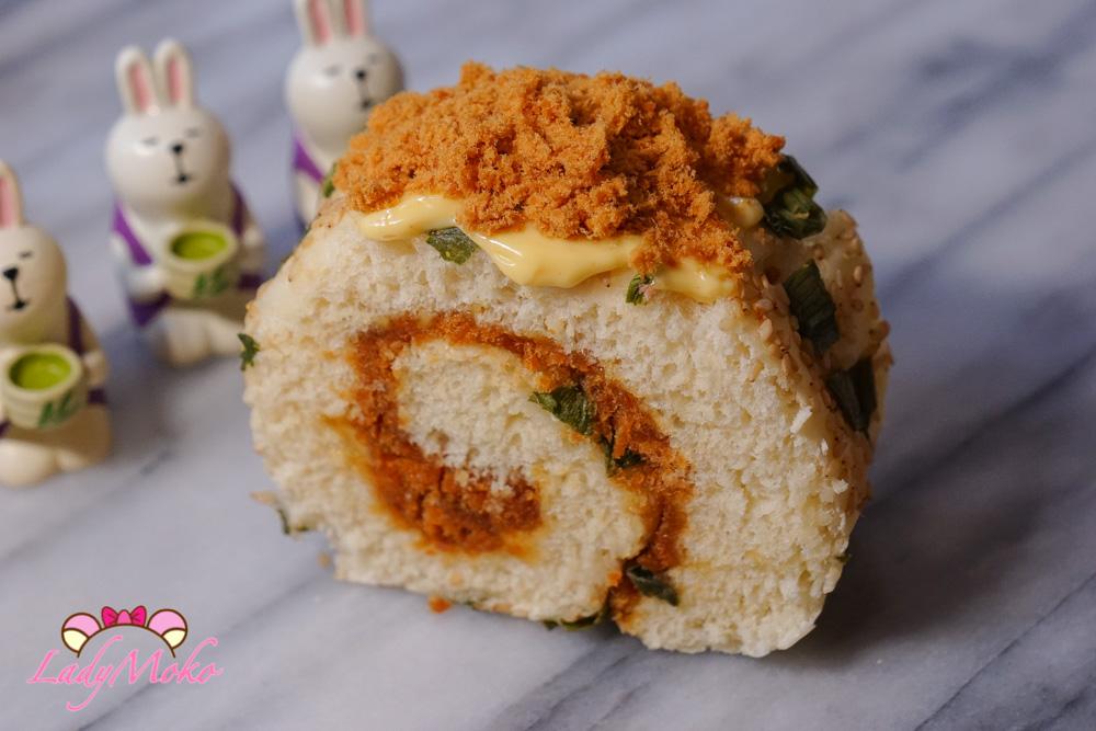 法式美乃滋做台式蔥肉鬆芝麻麵包捲食譜|MAILLE美乃滋使用