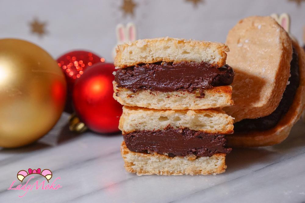 絕對厚!鬆!軟!達克瓦茲食譜|小撇步筆記,巧克力脆脆口味/巧克力甘納許夾餡食譜