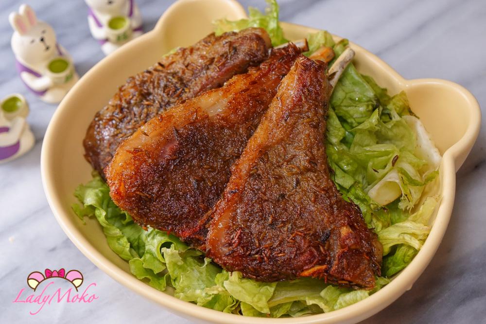 低溫慢烤孜然羊排食譜Cumin Roasted Lamb Chops|烤箱料理食譜