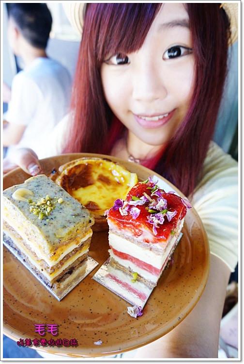 澳洲雪梨美食 》Black Star Pastry。名不虛傳的超人氣「 西瓜蛋糕」,雪梨必吃甜點!好吃又特別♥