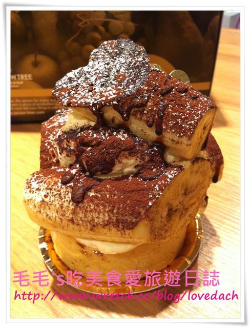 食記。Arrow tree 》N訪~香蕉巧克力塔+杯子層層蛋糕(外帶)