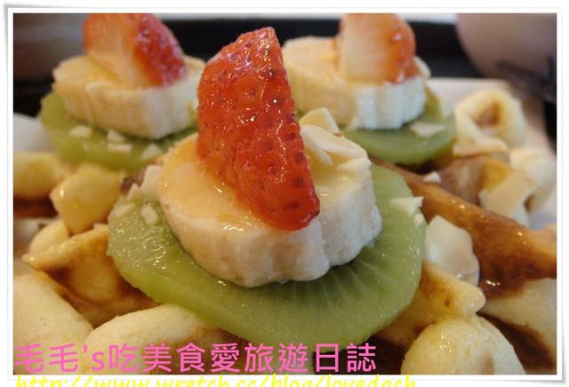 食記。Hielo 》水果抹茶優格鬆餅