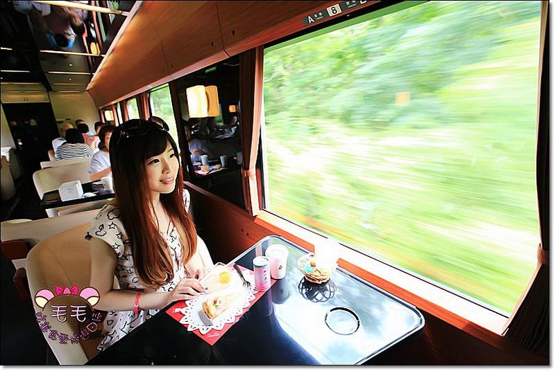 東北鐵道列車》FruiTea福島號,夢幻列車♥福島季節限定水蜜桃甜點♥貴婦等級,適合新婚夫婦家人一同搭乘/往復郡山與會津若松/フルーティアふくしま