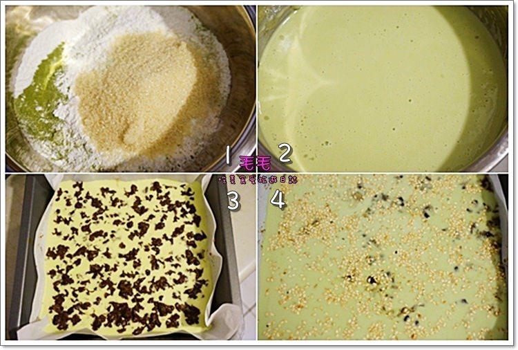 食譜-抹茶紅豆年糕