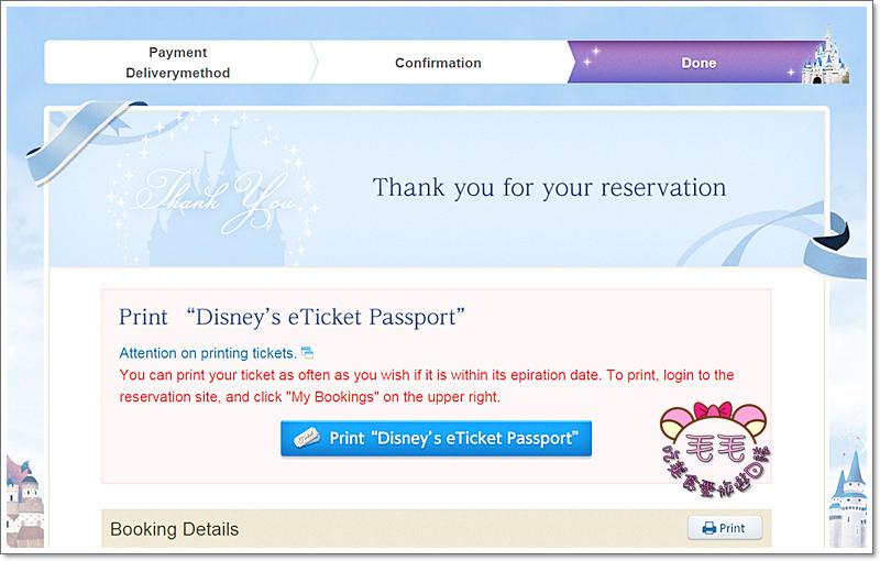 迪士尼生日票券13