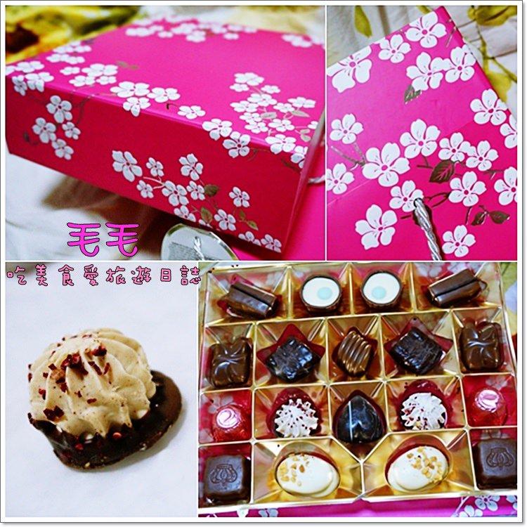 costco 》食記:Gudrun綜合比利時巧克力花漾限定版禮盒。情人節送禮,10種口味選擇多,超級甜滋滋(汐止店)