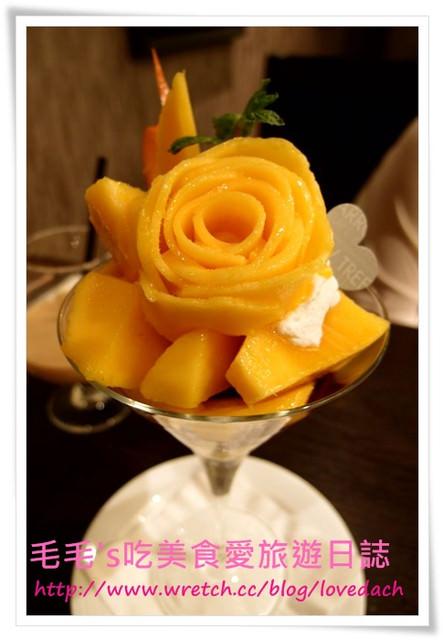 食記。Arrow Tree 》N訪 ~ 芒果千層蛋糕 + 芒果聖代 + 伯爵紅茶法式吐司 + 提拉米蘇+ 生乳酪蛋糕 + 香味奶茶