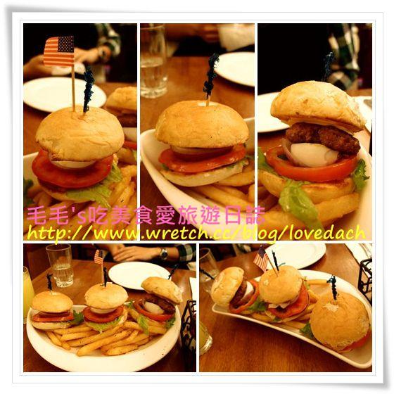 食記。Second Floor Cafe 貳樓(敦南店) 》超可愛迷你漢堡和滑嫩蛋捲