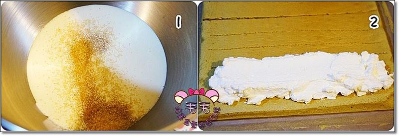 抹茶草莓蛋糕捲3