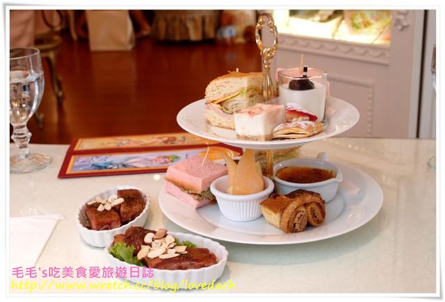 食記。Victoria Garden維多利亞花園 》超夢幻的公主下午茶~食物大不如環境(用餐篇)