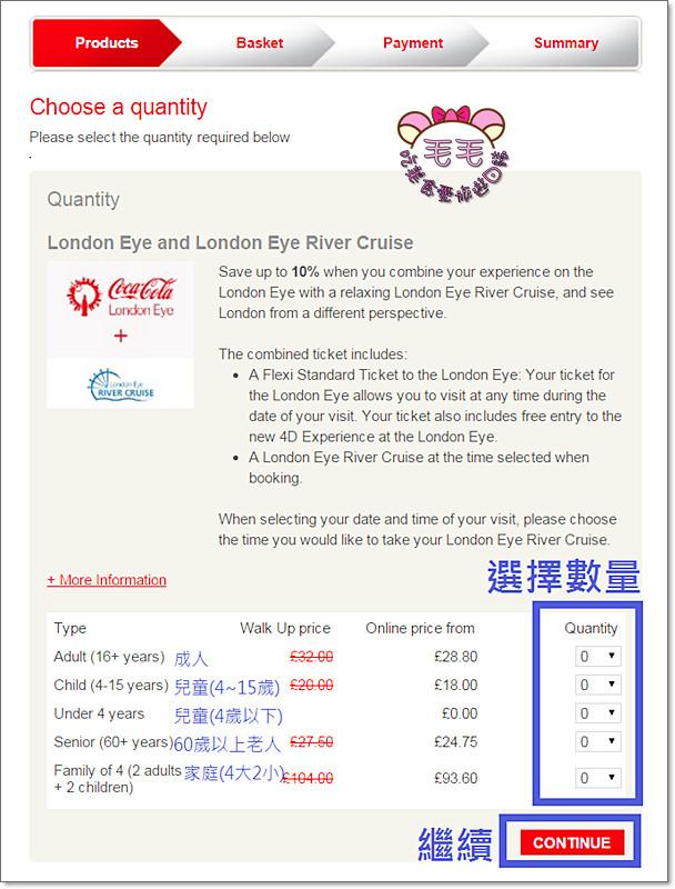 倫敦眼訂票教學2