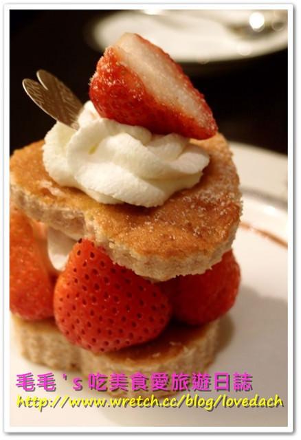 食記。Arrow tree 》N訪 ~ 3月茶會之焗烤煎酥白醬雞腿 + 法式木瓜薄餅 + 草莓葡萄柚蛋糕