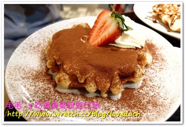 台北信義 》食記:MR.PAPA WAFFLE&CAFE 比利時鬆餅專賣店。三訪,提拉米蘇口味獨家報導!!!香濃芒果霜淇淋也不容錯過(邀約)