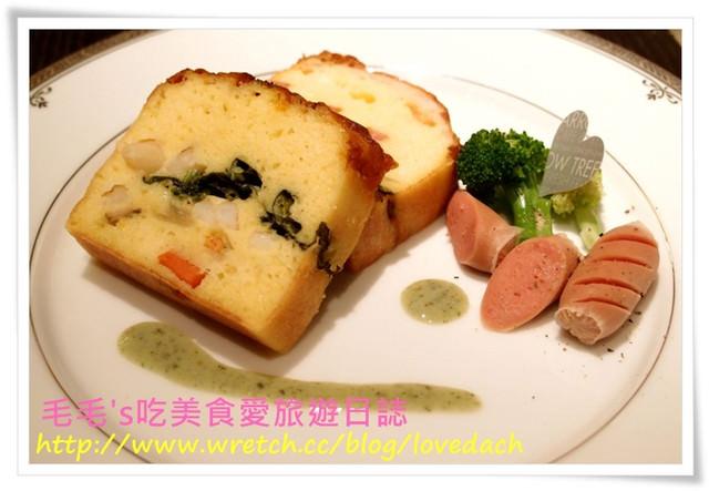 食記。Arrow tree 》N訪 ~ 8月茶會之鹹蛋糕 + 水蜜桃鮮奶油海綿蛋糕 + 葡萄白蘭地果凍