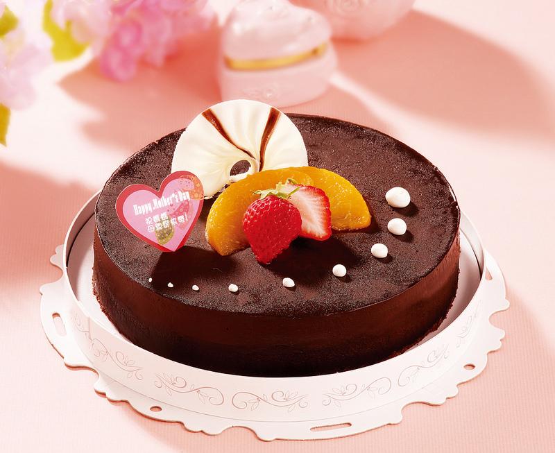 恩久法芙娜巧克力蛋糕