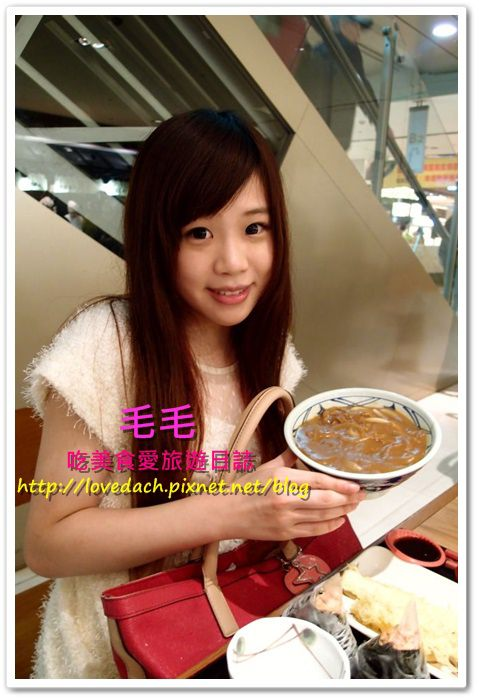 台北信義 》食記:丸龜製麵。二訪依然很喜歡 ~ 咖哩烏龍麵 | 鮭魚飯糰 | 炸物